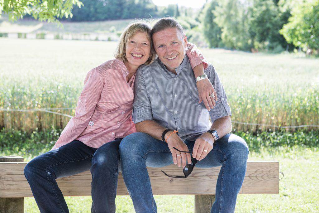 Franziska Meister und Harald Schneider