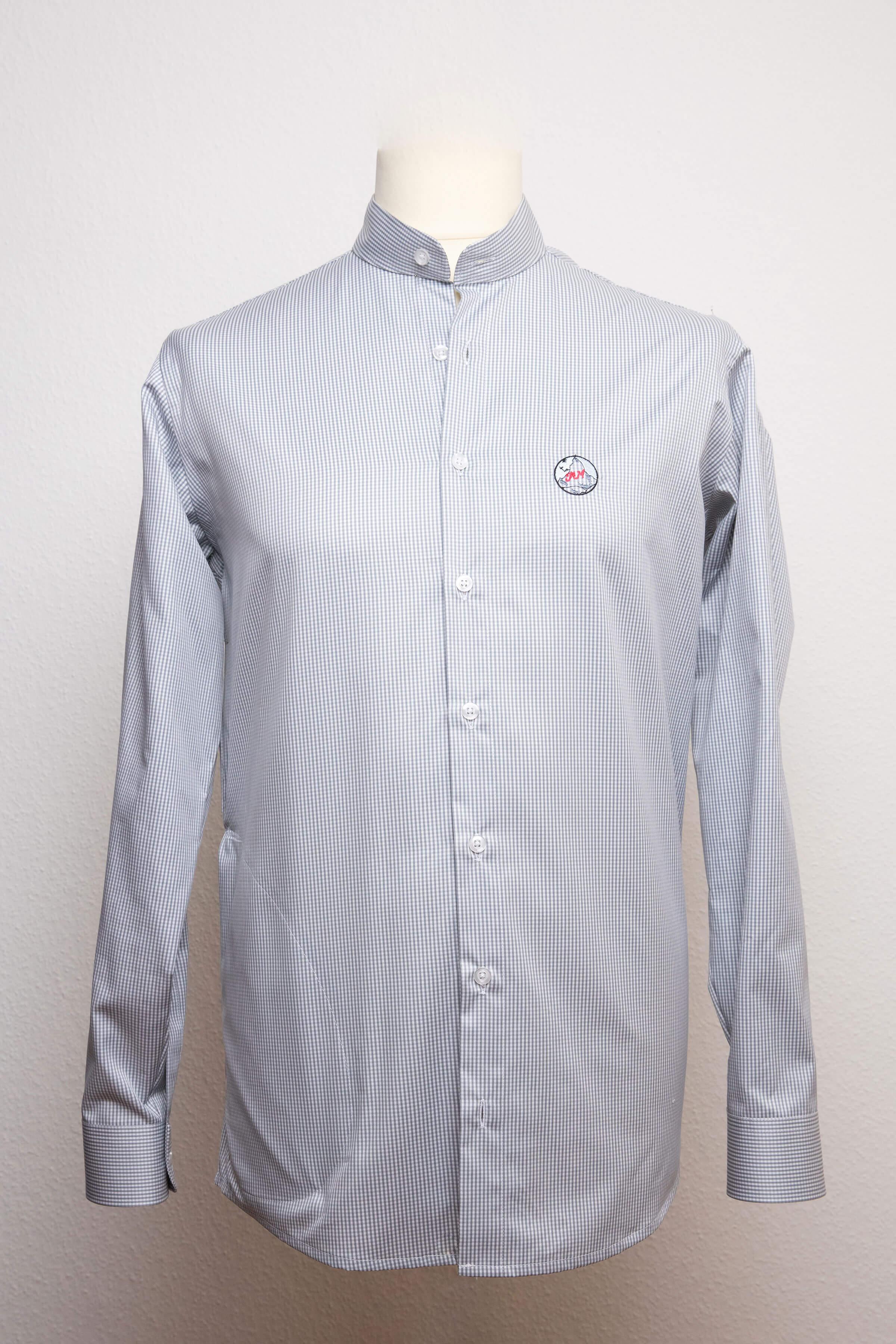 size 40 39263 827a7 Herrenhemd mit Knopfleiste in versch. Farben